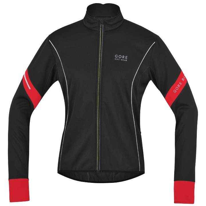 2018 GORE BIKE WEAR Winterjacke Power 2.0 SO schwarz-rot