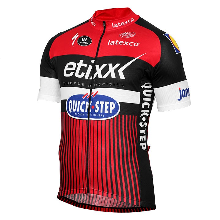 2018 ETIXX-QUICK STEP Kurzarmtrikot LTD Edition rot