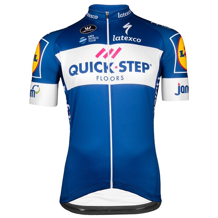 2018 QUICK - STEP FLOORS Kurzarmtrikot Aero