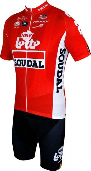 Lotto Soudal 2018 Tour Edition Trägerhose