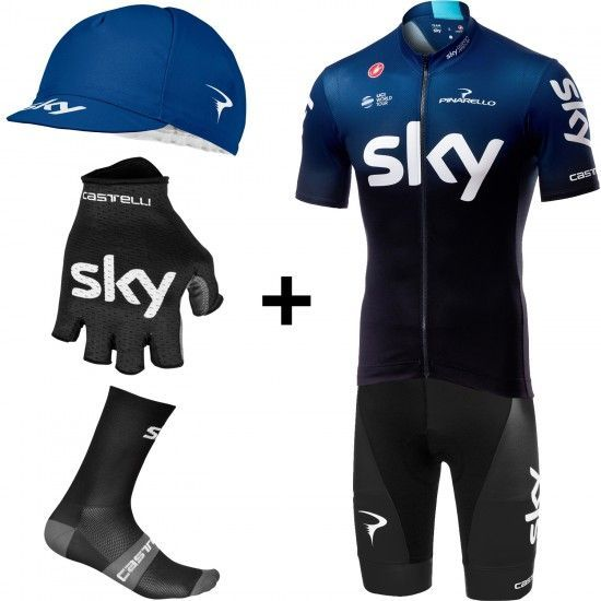Team Sky 2019 Squadra Super Spar Set